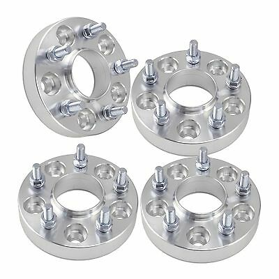 "(4) 1"" Jeep Hubcentric Wheel Spacers 5x5 