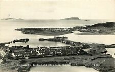 c. 1960 RPPC Ellenabeich, Easdale and Holy Isles, Argyll Scotland UK, Posted
