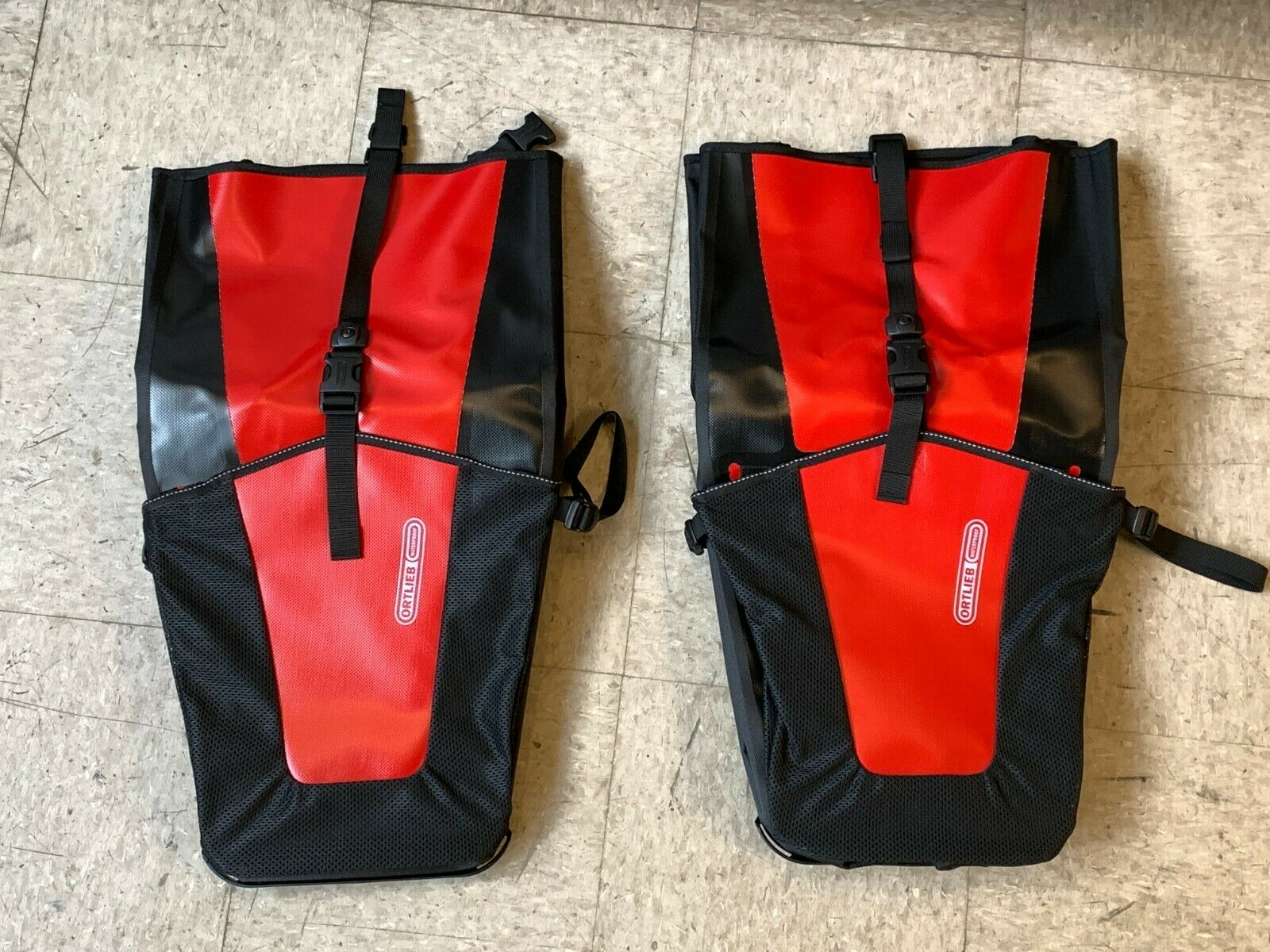 nuovo Ortlieb BackRoller Pro classeic Pair bicicletta Pannier rosso 78 L Waterproof