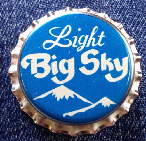 Big Sky Crown Beer Bottle Top Great Falls Brewing Montana