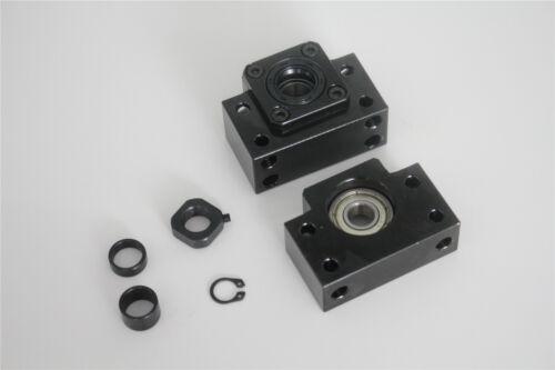 SFU1204 Kugelgewinde Kugelumlaufspindel L250-1500mm Endmaschine und Einzelmutter