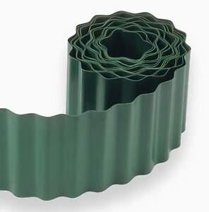 plastique gazon bordure jardin pelouse côté MUR Clôture CHEMINS Roll ...