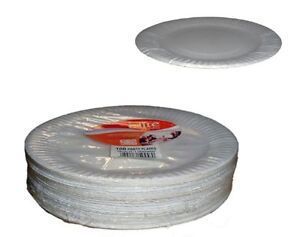 Image is loading 9-039-039-Quality-Paper-Plates-Party-wedding-  sc 1 st  eBay & 9\u0027\u0027 Quality Paper Plates Party wedding Catering x 200 | eBay