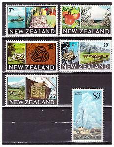 34487a) New Zealand 1968 MNH Definitives 6v