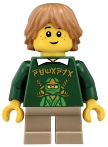 Lego New Tommy from Set 70620 Ninja Ninjago Movie Minifigure Figure