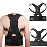Magnetic Back Shoulder Brace Posture Corrector Support Belt Scoliosis Belt