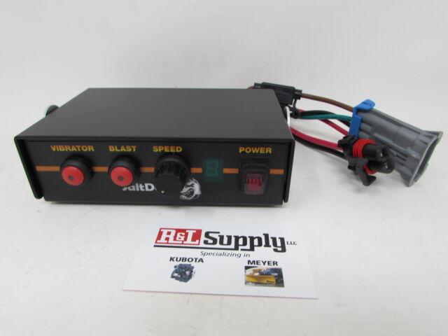 Salt Spreader Speed Control Box W// Vibrator Switch /& Harness