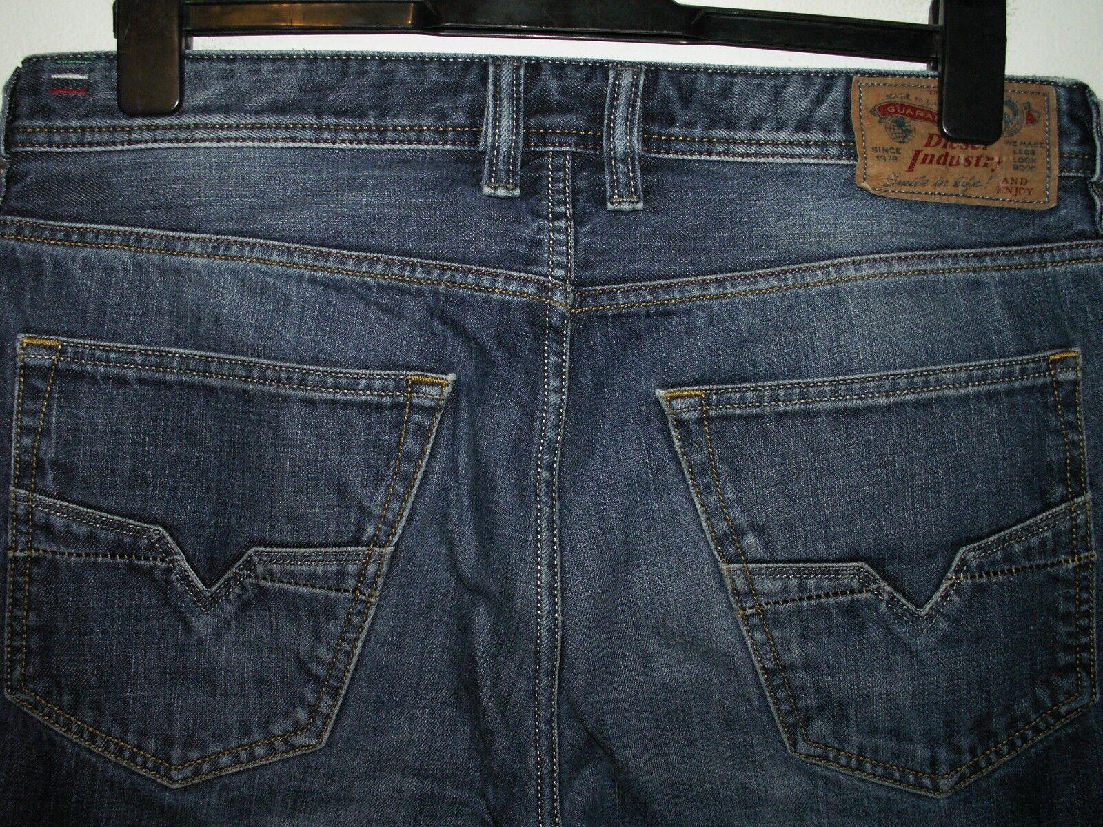 Diesel larkee-relaxed comfort-straight fit jeans wash 0074W W34 L34 (a4432)  | Export  | Vorzugspreis  | Verschiedene Waren