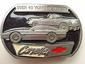 Corvette Motor Car Hebilla de cinturón