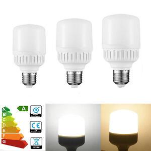 4x-8x-Maison-E27-20W-9W-Economie-d-039-Energie-ampoules-LED-Lampe-Blanc-Chaud-Froid