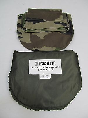 French Army L3A Bullet Stab Proof Vest Body Armor Groin Protector Panel K1/GP2