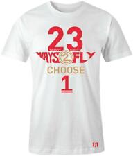 """/""""FLY LIKE USUAL/"""" T-shirt to Match Retro 12 /""""FLU GAME/"""""""