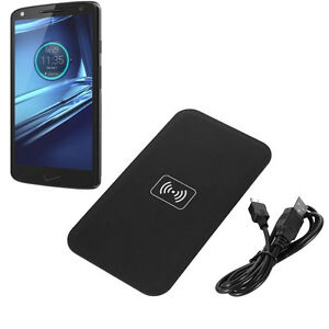 pick up 44e01 d8737 Details about QI Wireless Charging Charger Pad For Motorola DROID TURBO 2  Verizon US
