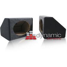 "Car Audio 6""x9"" Truck Angled Speaker Enclosure MDF Sealed Box Speakers Pair New"