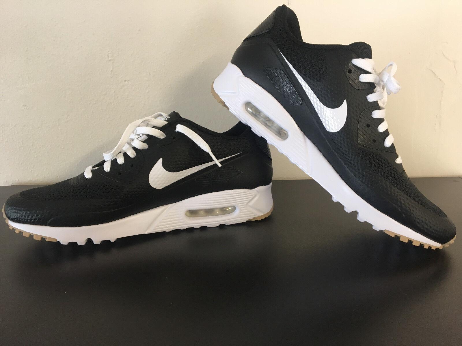 Nike Air Max 90 Ultra Essential Mens Black White 819474 010 Mens Essential Size 13 d986fc