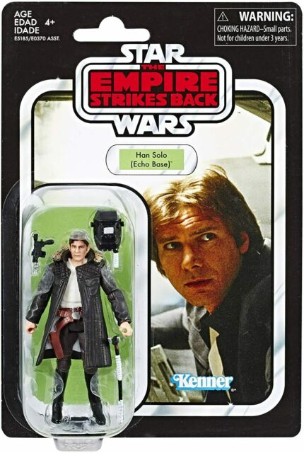 """STAR WARS The Vintage Collection Han Solo (Echo Base) VC03 3.75"""" Non Mint"""