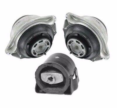 For Mercedes W140 V8 92-95 Engine+A//T Mounts 3 pcs Transmission Motor Support