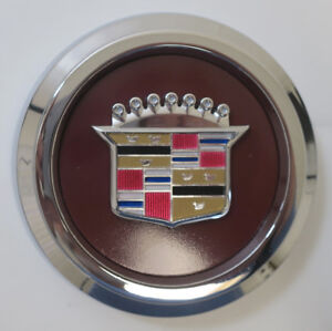 Details about Appliance Plating Center Caps for Cadillac Wire Wheels AP  Cadillac Emblems NEW