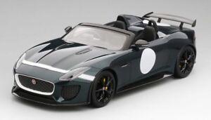 Jaguar-F-Type-Project-7-British-Racing-Green-Top-Speed-1-18-Model