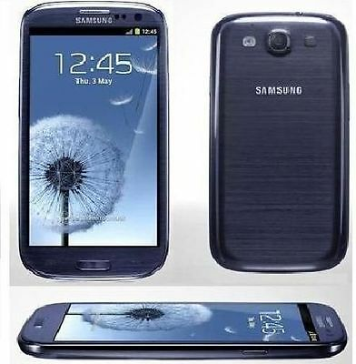 New Samsung Galaxy S III GT-I9300 16 GB Pebble Blue Unlocked Android Smartphone