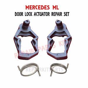Mercedes W163 Ml350 Ml500 Ml320 Ml430 Door Lock Actuator Springs Repair Kit New Ebay