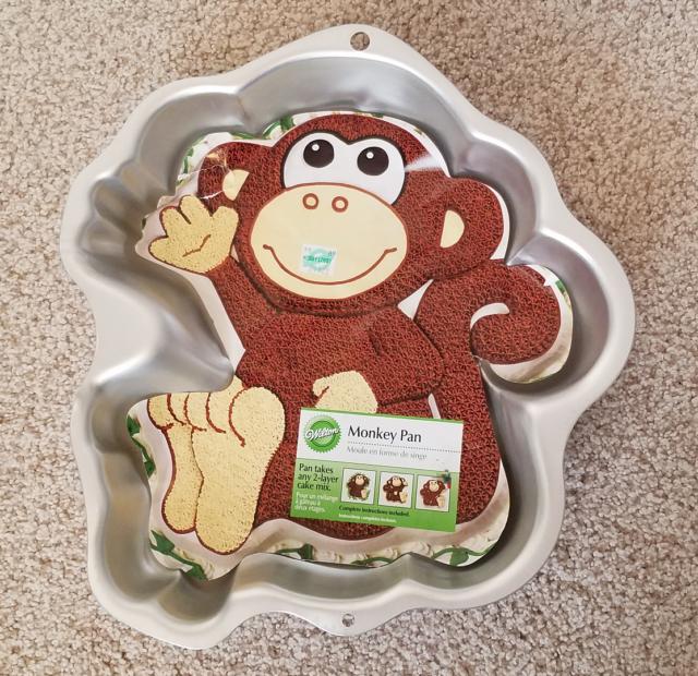 Wilton Monkey cake pan