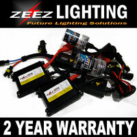 Zeez Hid Elite System Xenon Conversion Kit Bulbs + Slim Ballasts + Accessories