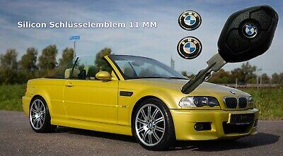 2 x BMW Schlüsselemblem Epoxy//Silicon 11 mm die UNVERWÜSTLICHEN BMW e46  e39 f11
