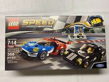 D1 Lego Lot Pieces Partial Build 75881 Ford GT 2016 Minifigure Speed Champions