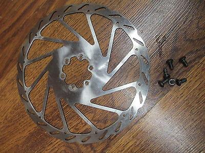Genuine AVID G3SS MTB Bike Disc Brake Rotor 160//185mm w// 6 Bolts