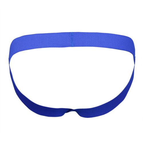 Mens Jockstrap Athletic Support Sports G-string Underwear Thong Brief Jock Strap