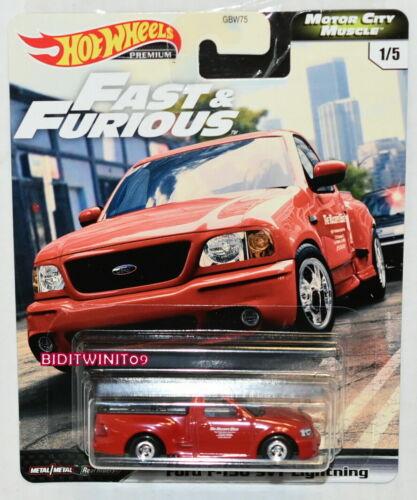 Hot Wheels 2020 Fast /& Furious Premium Ford F-150 Svt Lightning