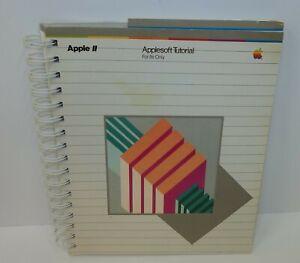 Apple-11-Applesoft-Tutorial-iie-Manual