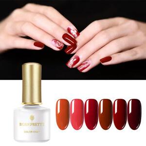 BORN-PRETTY-6ml-UV-Gel-Nagellack-Soak-Off-Cow-Blood-Red-Series-Gellack-Varnish