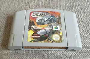 Nintendo 64 N64 juego Chopper ataque