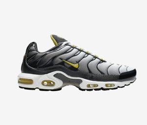 sale retailer 832a3 881df Details about New NIKE AIR MAX PLUS TN I2299002 Anthracite/Opti  Yellow/White Black c1