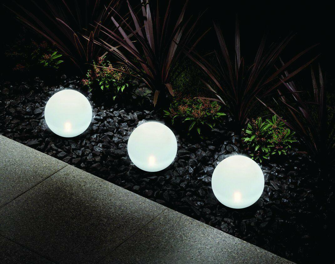 Solar Kugel 20, 25, 30 30 30 cm LED Outdoor   Erdspieß weiß Kugellampe Kugelleuchte 8h | Meistverkaufte weltweit  | Die erste Reihe von umfassenden Spezifikationen für Kunden  | Komfort  ebf09e