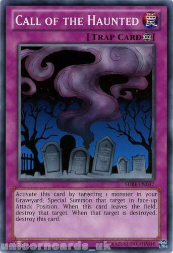 SDBE-EN037 Call of the Haunted UNL Edition Mint YuGiOh Card