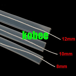 8mm/10mm/12mm Silicon tube IP67 for ws2801 ws2811 ws2812b