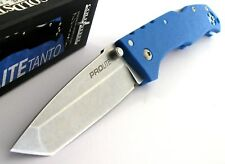 Cold Steel 20NSTLU Pro Lite Tanto Blue Folding Knife Pocket Folder