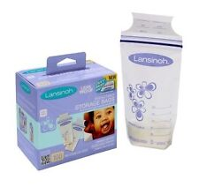 BPA Free Lansinoh Breast Milk/ Breastmilk Storage  6 oz- 25 PCS x Avent