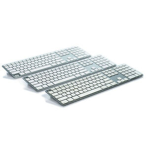 lot of 3 genuine apple aluminum wired keyboard a1243 for parts not working ebay. Black Bedroom Furniture Sets. Home Design Ideas