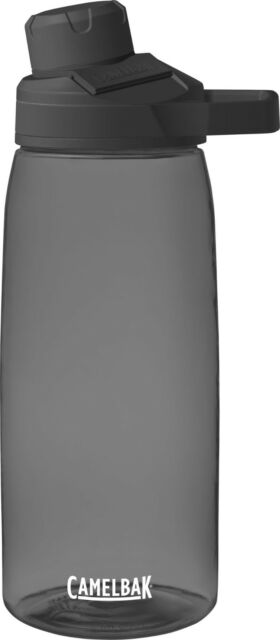 Camelbak CHUTE MAG 32oz (1L) Water Bottle, Sports Hydration Flask CHARCOAL Grey