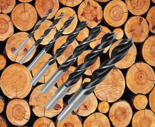 """5//16/"""" Wood Brad Point Drill Bit Set Woodworking Spur Point Wood Drill Bit-10pcs"""