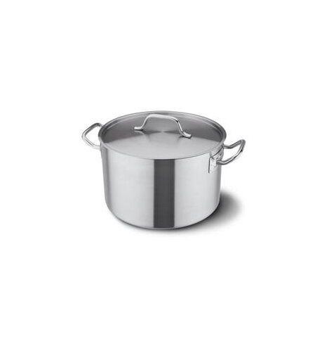 FAGOR CAP XXL Casserole en acier inoxydable avec couvercle soupière, marmite