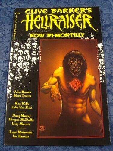 Book Eight Clive Barker/'s Hellraiser 1991 * Epic Comics*
