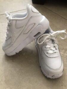 Toddler Nike Air Max 90 Size 7C White