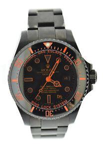 2e0a2d00dd5 Rolex Sea Dweller Deepsea Bamford Dr X Romanelli PVD Steel Watch ...