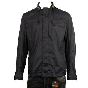 d52276a105b3 Mens Ben Sherman Retro Rain Resistant Mod Jacket Nylon Hooded School ...