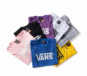 New Couple Van s T-Shirt Matching Shirts Summer Unisex Tee Tops M-XXL